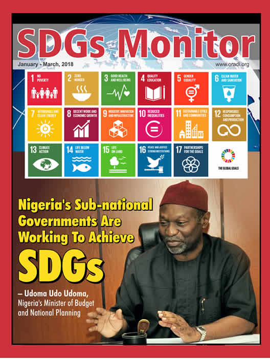 SDGs Monitor (Jan - Mar,  2018)